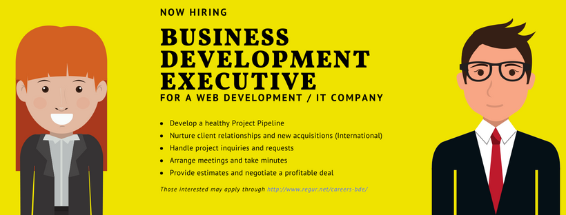 Looking For A Winner Business Development Executive Regur
